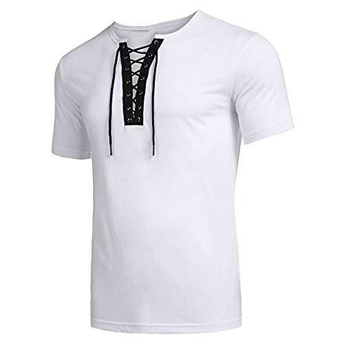 5fda052e1 Dressin Men's 2019 Fashion T Shirts, Trend Personal Band Short Sleeve T- Shirt Pure