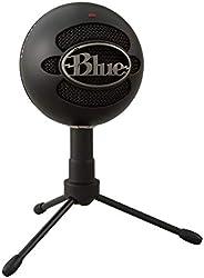 Microfone Condensador USB Blue Snowball iCE com Captação Cardióide, Ajustável, Plug and Play para Gravação e S