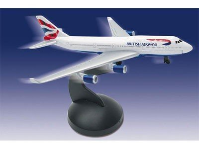 Real Toys BA6264 British Airways Boeing 747-400 (British Airways Boeing 747)