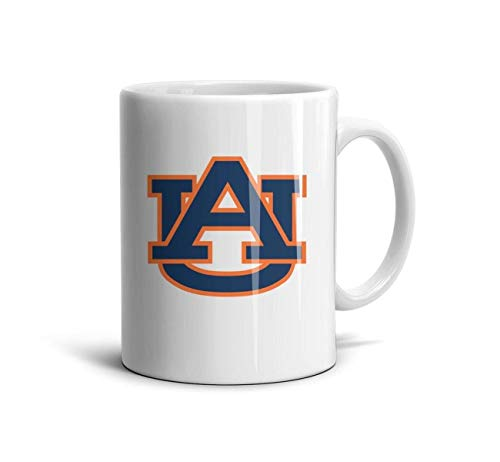 (Jessica's Fancy Store Coffee Mug Auburn-Tigers-Logo- Tea Cup, Ceramic Cup for Office and)