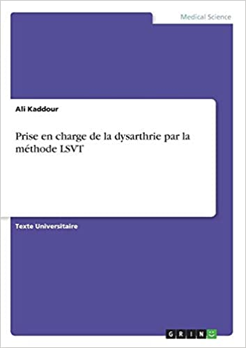 Prise Charge Dysarthrie