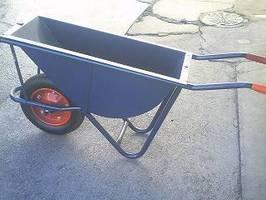 運搬用一輪車(カート車)幅狭タイプ深型ノーパンク仕様(猫ネコねこ車) B003VDQO94