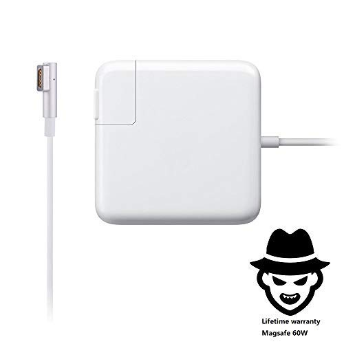 Commercial Mac Book Pro Charger,60W Magsafe L-Tip Adapter Charger for MacBook Pro 13 Inch Before Mid 2012 Model ...