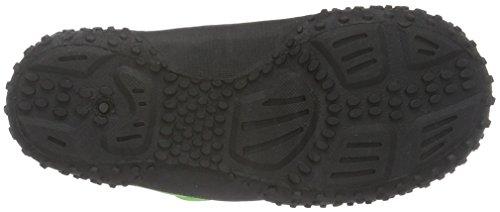 PlayshoesAquaschuhe, Badeschuhe Neonfarben Mit Höchstem UV-Schutz Nach Standard 801 - Zapatillas Impermeables Niños-Niñas Verde - Grün (grün 29)
