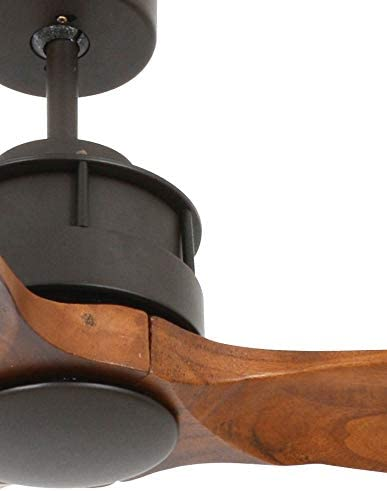 LUCCI AIR 210507/Airfusion Akmani Ventilador de techo 60/Orb madera de nogal