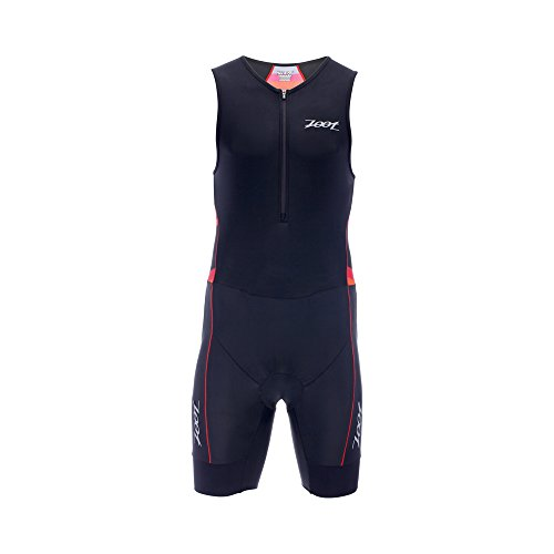 Zoot Men's Performance Tri Race Suit, Race Day/Red Stripe, Small ()