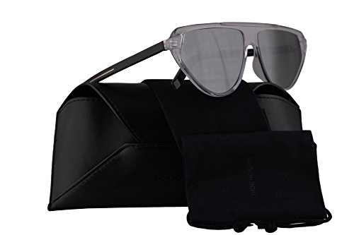 Christian Dior Homme Blacktie247S Sunglasses Crystal w/Grey Mirror Lens 60mm 900T4 Blacktie 247S Black Tie247S Black Tie 247S