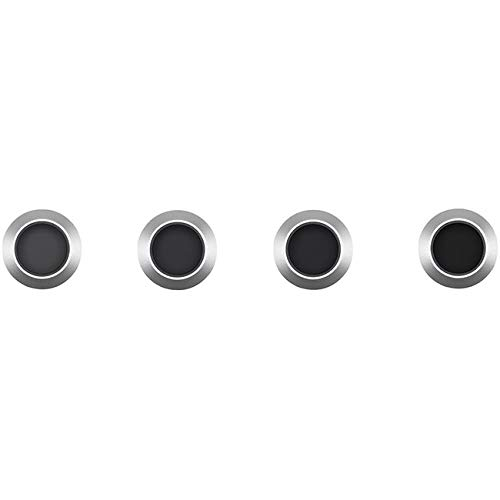 DJI ND Filters Set for Mavic 2 PRO Drone, Includes ND4 Filter, ND8 Filter, ND16 Filter and ND32 Filter by DJI