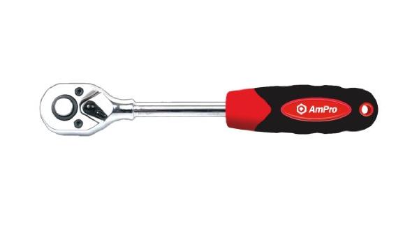AmPro Heavy Weight Snap Lock T32119 Extendable Ratchet Screwdriver 1//4