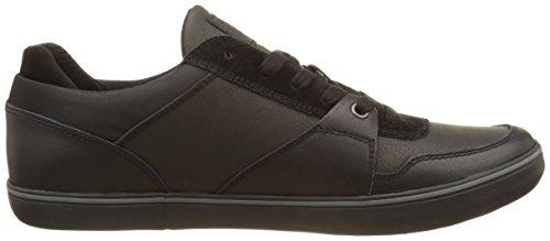 Geox U Box a, Zapatillas para Hombre Negro (Black)