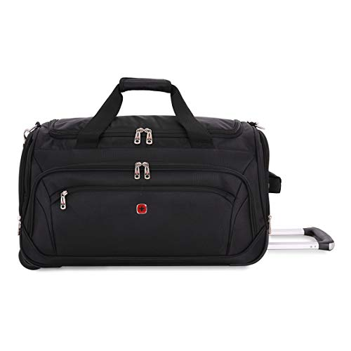 SWISSGEAR Large Lightweight Rolling Duffel | Wheeled, Soft-Shell Luggage | Men's and Women's - ()