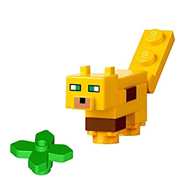 LEGO Minecraft Minifigure - Ocelot Animal (from Sets 21125, 21132): Toys & Games