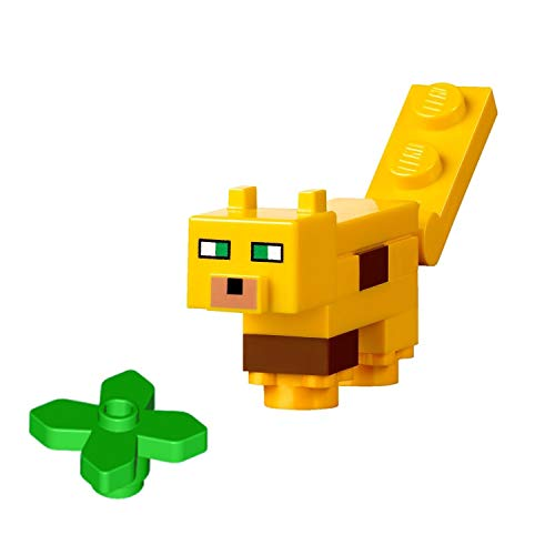 LEGO Minecraft MiniFigure - Ocelot Animal (From Sets 21125, 21132)]()