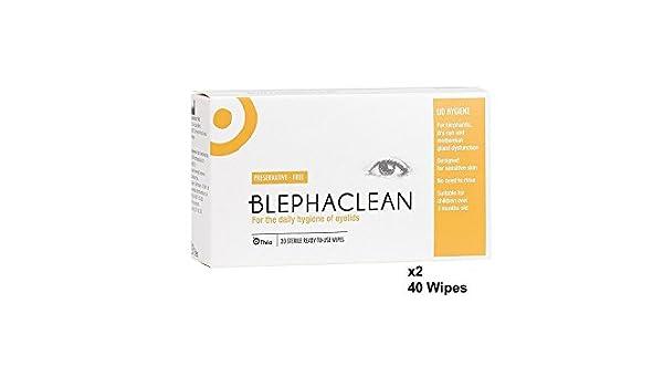 40 Blephaclean Esterilizado Toallitas Para Los Párpados Para La Blefaritis Envío Gratis: Amazon.es: Salud y cuidado personal