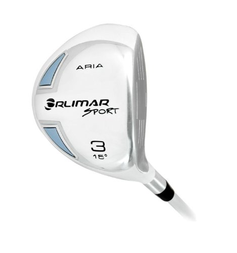 Orlimar Men's Sport Aria 3 Fairway Wood, Right Hand, 15 Degree by Orlimar