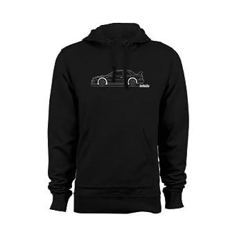 d618a3fc Subaru Impreza WRX STI 22B Men's Car Hoodie, Size: XXL Black [Apparel]