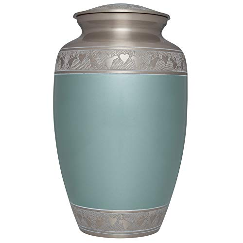Classico Memorials – Cremation Funeral Urn for Human Ashes – Suitable for Burial Blue Angels