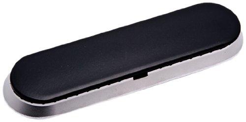 GE WB16K10053 Central Burner and Cap Assembly for Stove (Burner Black Cap Range)