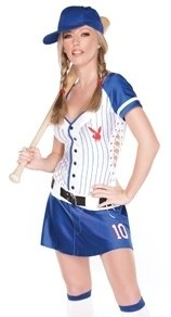 Sexy Baseball Girl Halloween Costumes