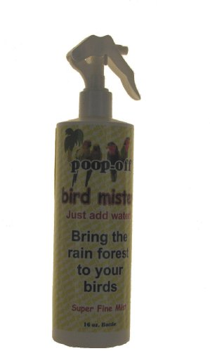 Poop-Off Bird Mister Water, 16-Ounce, My Pet Supplies