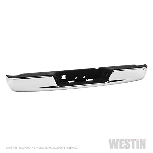 Fey 31017 Perfect Match Custom Fit Chrome Replacement Rear Bumper with Mounting Brackets (Fey Rear Bumper)