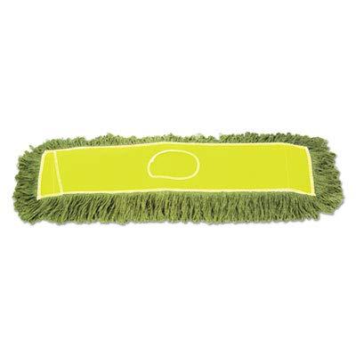 Boardwalk Echo Dustmop, Synthetic/Cotton, 36'' X 5'', Green, 12/Carton
