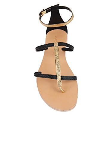 Tanzania Sandals Womens Black Sandal Cocobelle H5v0fnqn