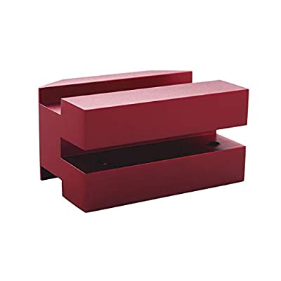 Dewhel Lift pads Jack Pad Billet Anodized Red Aluminum Floor Jack bolt on Jack Points For 6th gen Camaro 16-18,except convertable: Automotive