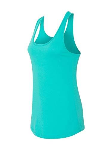 Next Level Apparel Women's Tear-Away Tank Top, Tahiti Blue, Large