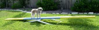 Adjustable Teeter Base SeeSaw Base - Dog Agility Equipment- BOARD NOT INCLUDED!