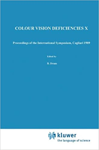 Book Colour Vision Deficiencies X: Proceedings of the tenth Symposium of the International Research Group on Colour Vision Deficiencies, held in Cagliari, ... Ophthalmologica Proceedings Series)