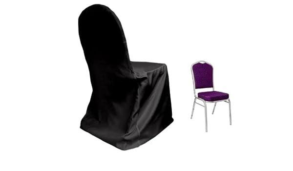 Swell Amazon Com Balsacircle 10 Pcs Black Lamour Satin Matte Spiritservingveterans Wood Chair Design Ideas Spiritservingveteransorg