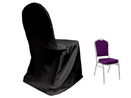 Prime Amazon Com Balsacircle 10 Pcs Black Lamour Satin Matte Spiritservingveterans Wood Chair Design Ideas Spiritservingveteransorg
