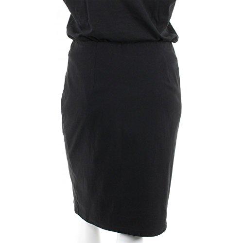 Jupe Grande 44 au du Noire Taille ME Strech Femme Droite THAT'S 58 Noir AqgT6w5