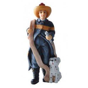Dollhouse Fireman Resin Doll Houseworks LTD