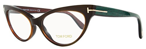 Tom Ford FT5317 052 Eyeglasses Frame TortoiseAqua 54