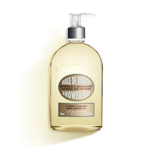 LOccitane Almond Shower Oil, 16.9 Fl Oz