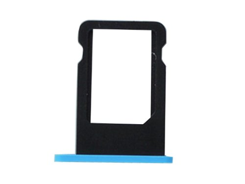 SIM Card Tray for iPhone 5C (Blue) - 8