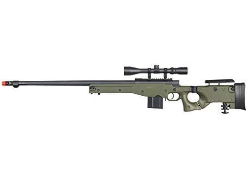 Well MB4403 Rifle de francotirador Airsoft W / Scope - OD Green