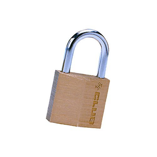The Club UTL815 30mm Brass Padlock, Gold
