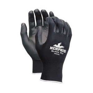 MCR SAFETY 9669M Pu Coated Nylon Glove (Pack of 12)