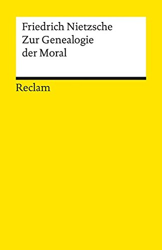 Zur Genealogie Der Moral (German Edition)