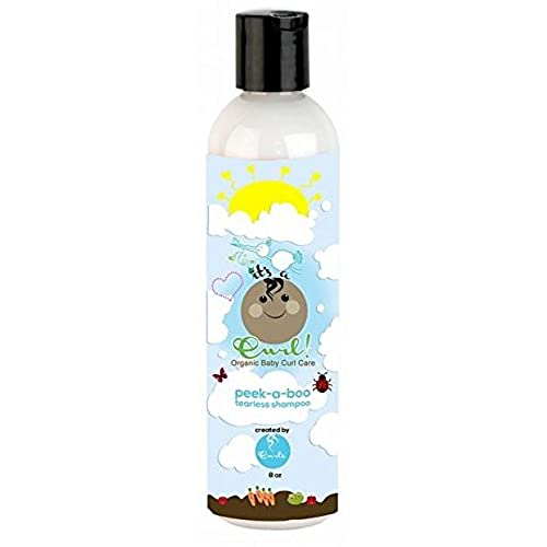 Curls Its a Curl Organic Baby Curl Care Peek-a-boo Tearless Shampoo 8oz