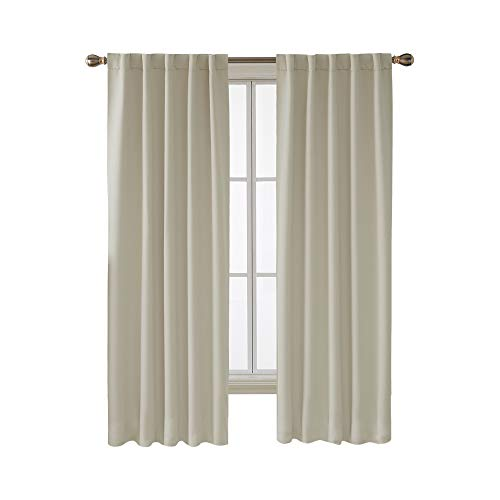 Deconovo Blackout Curtain Panels for Kids Bedroom