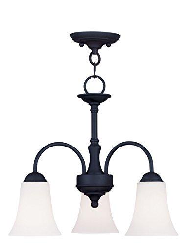 Livex Ridgedale 6464-04 3-Light Convertible Chain Hang / Ceiling Mount in by Livex Lighting Inc [並行輸入品]  B018A1JW7M