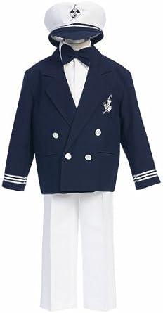a.x.n.y Little Boys Slim Tailored Three-Piece Suit