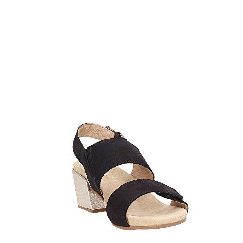 Sandalo Nero Paola Donne Platino Benvado xZYB7B