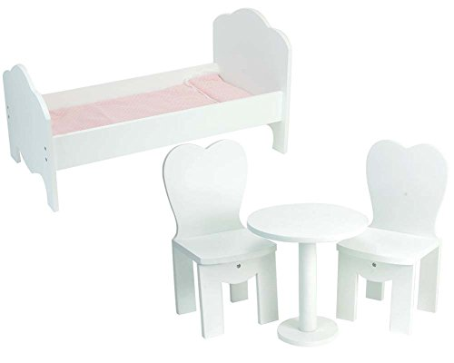 18 Inch Doll Wooden Furniture 4 Pc. Set Perfect for Doll ...