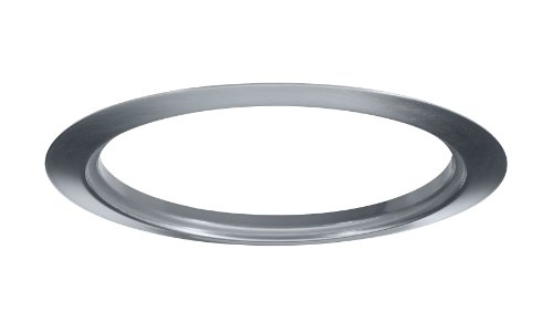 Juno Lighting TR6-SC 6-Inch Satin Chrome Trim Ring
