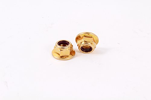 2 Pack MTD 712-04065 Hex Flange Lock Nut Fits Brute Columbia Craftsman Huskee